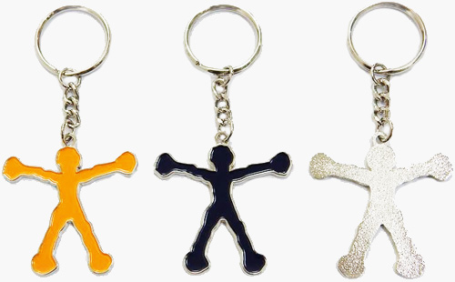 Fun and popular: key chains